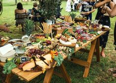 Grazing table love!