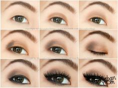 Matte brown asian eye makeup By iloveaday