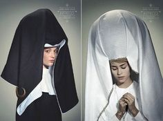 Spring 2009: More Fashionable Nuns ~ Trend de la Creme - Trends in fashion, style, beauty, design, and popular culture.