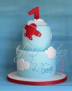 Airplaine Cake