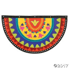 Indoors or out, this nylon bunting makes a festive addition to any fiesta or Cinco de Mayo decorations! Decorated with a colorful pattern, you'll love the ...
