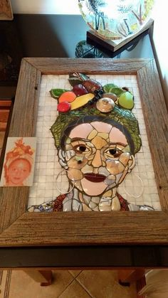 Image result for love mosaic art face