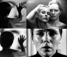 "Bibi Andersson and Liv Ullmann in Ingmar Bergman's ""Persona"", 1966."