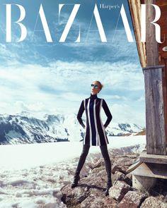Harper's Bazaar Czech November Photography: Andreas Ortner Fashion Editor: Lucie Janatova Styled by: Martina Gvizdova Hair & Makeup: Adriana Bartosova Model: Luisa Bianchin
