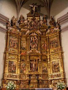 retablo de santa maria de tafalla. juan de Ancheta