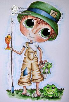 DOWMLOAD instantánea Digital Digi sellos grandes ojo cabeza grande muñecas Digi Bestie novios imf567 por Sherri Baldy