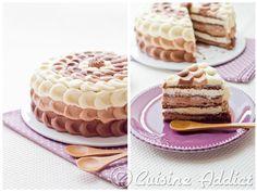 Gâteau à étages aux 3 Chocolats {Layer Cake} - Cuisine Addict - Recettes faciles et bluffantes!