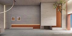Hotel Floor Plan, Deconstructivism, Landscape Walls, Hotel Lobby, Office Interiors, Living Room Interior, Contemporary Design, House Design, Interior Design