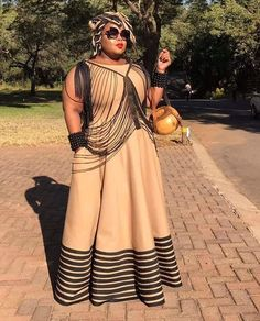 shweshwe skirts 2019 for black women - skirts African Maxi Dresses, Latest African Fashion Dresses, African Dresses For Women, African Print Fashion, African Attire, African Wear, Xhosa Attire, African Traditional Wedding Dress, Traditional African Clothing