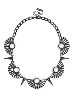 Spike Helios Collar  Fashion Necklaces: Statement, Chains & More | BaubleBar http://www.baublebar.com/necklaces.html