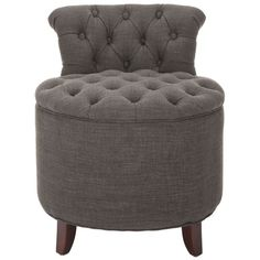 I pinned this Brayden Tufted Vanity Stool from the Tinsley Mortimer event at Joss and Main!