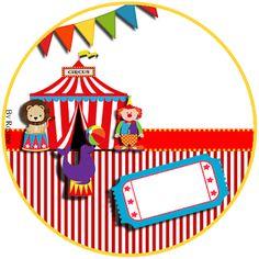 Kit Imprimible GRATIS Circo
