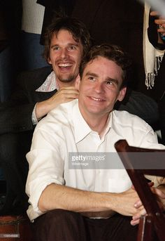 Director Ethan Hawke And Robert Sean Leonard During Details Magazine Hosts Chelsea Walls Premiere