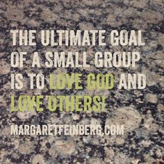 5 Secrets On How to Encourage People Join Your Small Group (and Stay Plugged In) - MargaretFeinberg.com