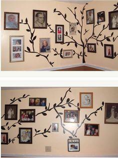 Tree wall sticker decal