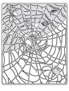 artool freehand airbrush templates spider master arachnophobia