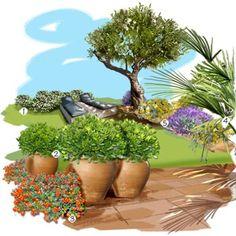 Projet aménagement jardin : Souvenirs de vacances