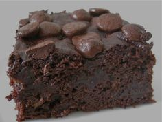 Double Chocolate Brownies, gluten free and vegan