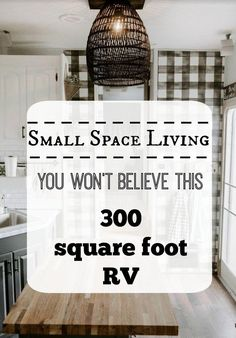 Small Space Living Feature- You won't believe this RV! - Nesting With Grace - You won't believe this RV living post! This sweet family has made RV life so minimalistic, stylis - Camper Diy, Rv Campers, Camper Hacks, Happy Campers, Rv Bus, Teardrop Campers, Teardrop Trailer, Small Space Living, Small Spaces