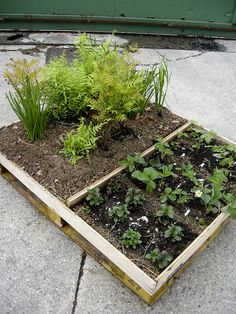 genius way to make raised beds with things we already have!