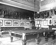 The Billiards Room at Sandringham, as Jennie would have known it. Royal Uk, Bright Rooms, Billiard Room, The Crown, Churchill, Conservatory, The Originals, British Royals, Architecture