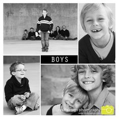 photographing boys