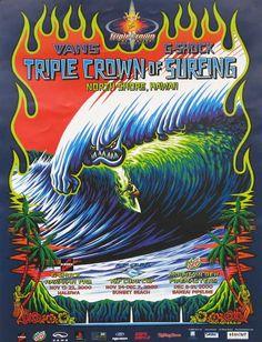 2011 Vans Triple Crown of Surfing Online Store - 2000 Triple Crown of Surfing Poster