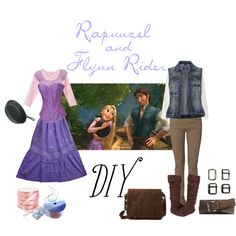 """Rapunzel and Flynn Rider"" costumes... stop."