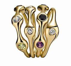 Pandora Lovepod rings - ahead of their time