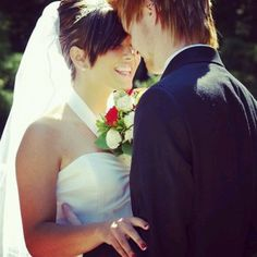 Matty and Brittany Mullins wedding day <3