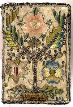 Embroider book cover - 1639
