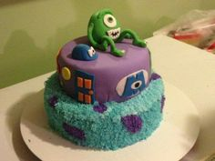 Monsters Inc. I did this cake for a friend of mine :)