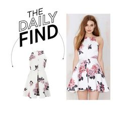 """""""Daily Find: Cameo Collective Floral Dress"""" by polyvore-editorial ❤ liked on Polyvore featuring moda, Cameo y DailyFind"""