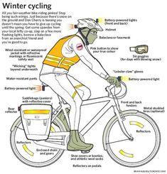 winter biking tips