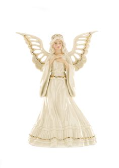 LENOX  Angelic Visions Adoring Angel Tree Topper