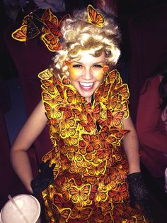 effie trinket costume the hunger games catching fire i met lauren at school