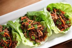 These Pork Asian Lettuce Wraps will become a repeat dinner in your house. They're low-carb, dairy-free and good enough that even picky eats will love them.