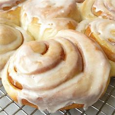 Maybe not your mom's cinnamon buns. But maybe even better.  SUGAR! DRYS OUT YOUR PRODUCT! Great tip!