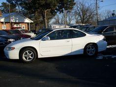 1999 Pontiac Grand Prix GT White 4 Door