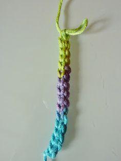 le Crochet de Pandore: Tuto : monter des mailles serrées sans chainette de base
