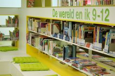 Bibliotheek Assen, 100 talenten jeugdafdeling (foto: Manon)