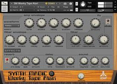 Synth Magic has introduced Wonky Tape Atari, a free Atari gaming consolesample library for Native Instruments Kontakt 5 and WAV compatible sampler instruments. Wonky Tape Atari is a collection of sound effects and instruments that were sampled from the oldAtari 2600 gaming console to a vintageTeac reel to reel tape and then converted into aRead More
