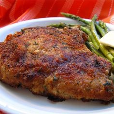 "Italian Breaded Pork Chops I ""The has got to be the best pork chops I've ever ate!"""