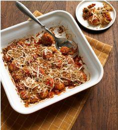 Mushroom Parmesan Bake - easy and yummy sounding.
