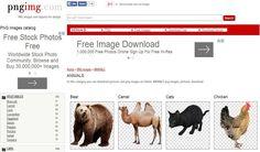 PngImg: miles y miles de imágenes PNG con fondo transparente para descargar