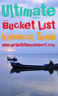 All the fun and exciting things that you can see and do when visiting Valencia, Spain.
