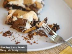 S'mores Brownies (can also be made gluten free!)