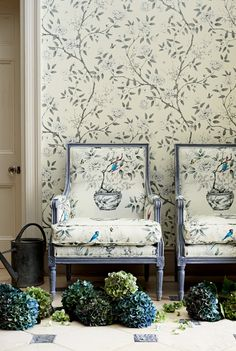 Chinoiserie.    Photographed by Adrian Briscoe, Styled by Arabella McNie for Zoffany.