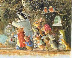 brian paterson illustration, foxwood tales