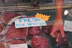 Recipe: Grilled Elk Tenderloin with a Huckleberry Demi-Glacé | Edible Buffalo